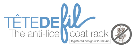 ANTI-LICE COAT RACK - Made in France